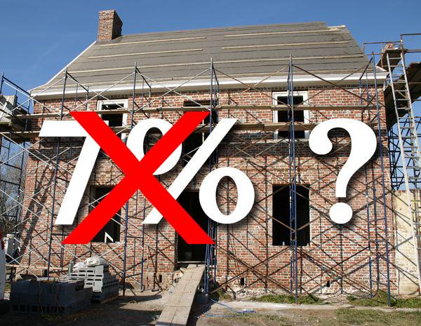 Baisses et hausses de la tva a quoi joue le gouvernement for Tva applicable travaux renovation