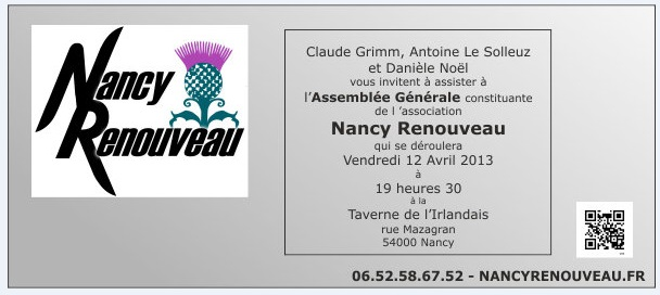 Invitation AG Nancy Renouveau