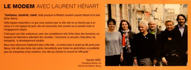 MODEM avec Laurent Hénart