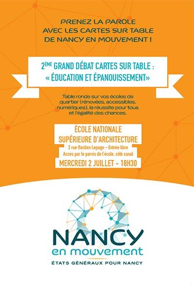 Etats Généraux de Nancy 2 Education