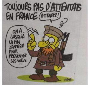Charb Last draw