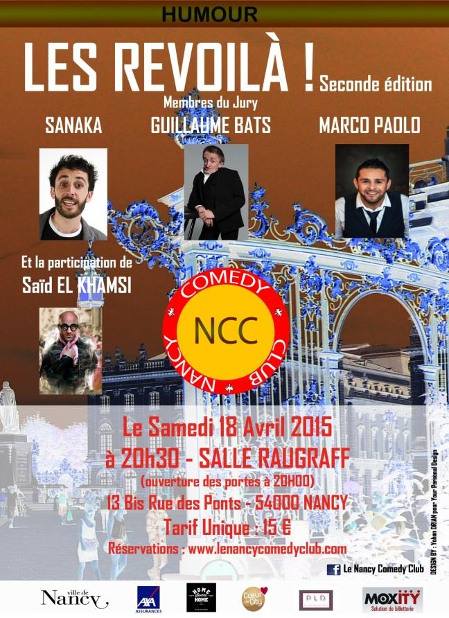 Affiche Avril 2015 Finale Découpé