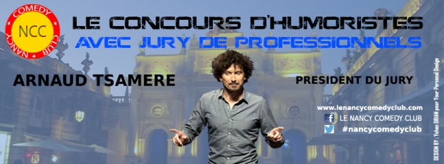 Couv FB Arnaud Tsamère Président